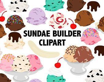 22++ Ice cream sundae bar clip art info