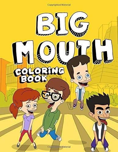 Download Pdf Big Mouth Coloring Book Free Epub Mobi Ebooks With