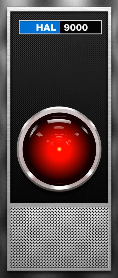 """""""HAL 9000"""" in Stanley Kubrick's film """"2001: A Space Odyssey"""""""