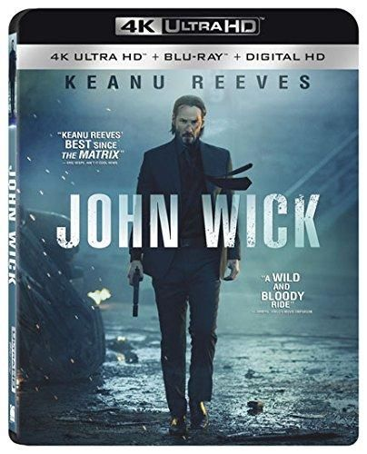 John Wick 4K Ultra Hd [Blu-ray] - Default