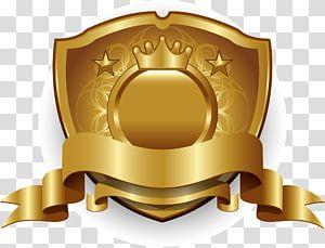 Brown Shield Logo Gold Shield Golden Shield Shield Gold Label Golden Badge Gold Badge Transparent Background P Transparent Background Gold Labels Shield Logo