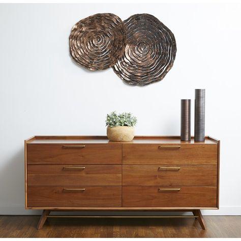 Brayden Studio Moffitt 6 Drawer Double Dresser Reviews Wayfair Ca Dressers And Chests Furniture Double Dresser