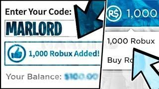 Free Robux Promo Code Gives You 1000000 Robux No Bc No Password