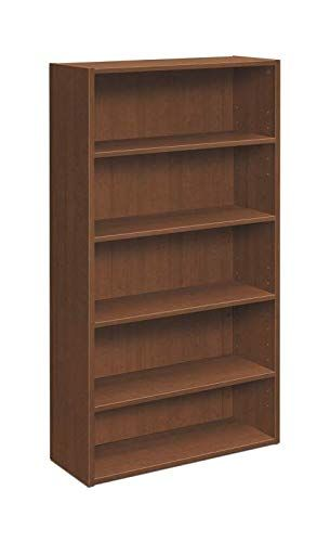 Hon Lm65bcf Foundation Bookcase 5 Shelves 32 Inch W X 13 13 16 Inch D X 65 3 16 Inch H Shaker Cherry Bookcase Bookcase Shelves Shop Chair