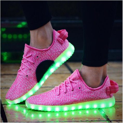 d31ad06480c4 PINK LED Color Changing Shoes (Adult, Usb Charging)  49.99   !mpul e ...
