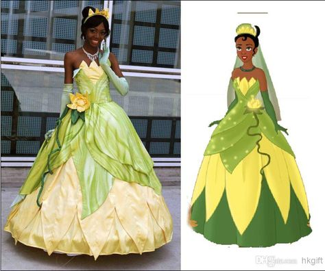 Christmas Baby Girls Tiana Dress Halloween Princess And The Frog Costume