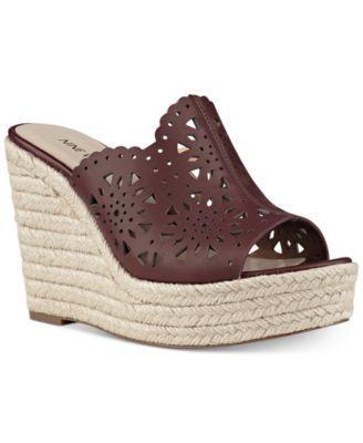 Nine West Derek Espadrille Platform Wedge Sandals Macys Com Bayan Ayakkabi Ayakkabilar Sandalet