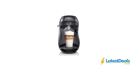 Tassimo By Bosch Happy Coffee Machine Black 29 At Currys
