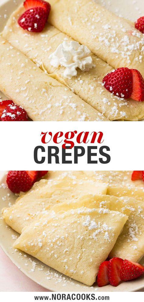 Easy Vegan Crepes -   - #crepes #easy #vegan #VeganRecipes