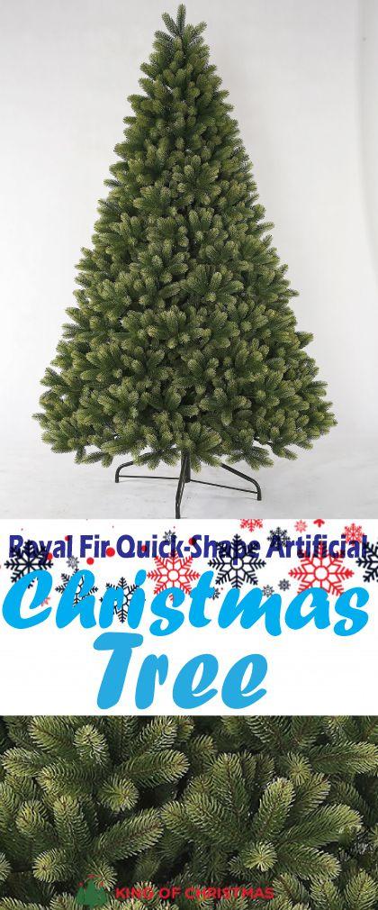 Royal Fir Quick Shape Artificial Christmas Tree Artificial