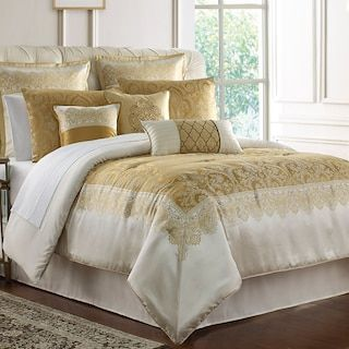 Marquis By Waterford Russell Comforter Set Kohls Comforter Sets Luxurious Bedrooms Bedding Sets