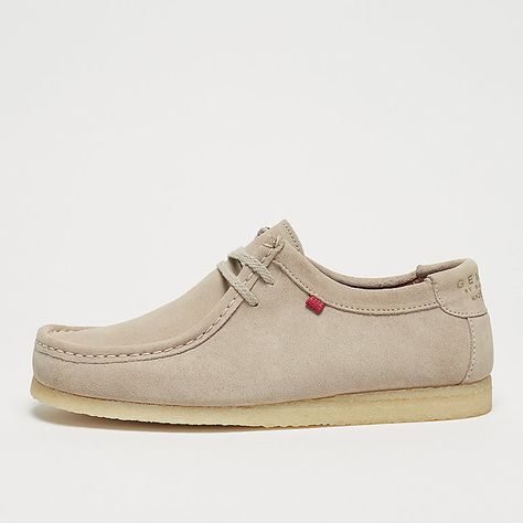 Djinn's Genesis Low Cow Suede offwhite natural   Sneakers