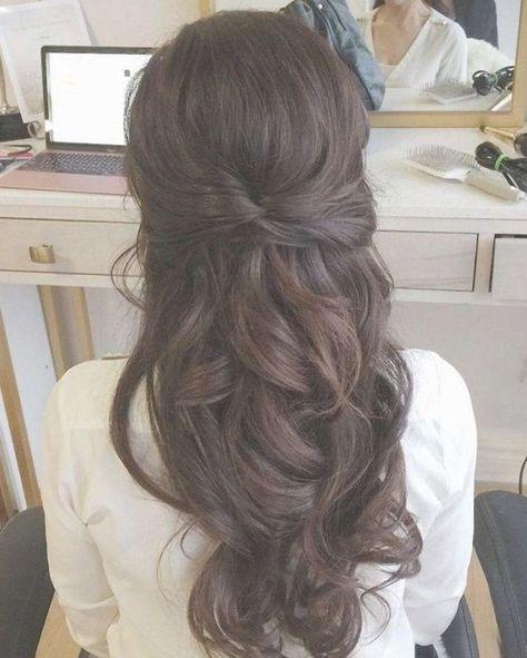 25 #HalfUpHalfDown Wedding #Hairstyles Every Bride Will Love #updosweddinghair