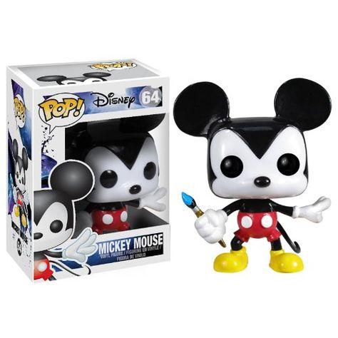 Funko - Pdf00003910 - Figurine Cinéma - Pop - Disney - Epic Mickey - Mickey Mouse