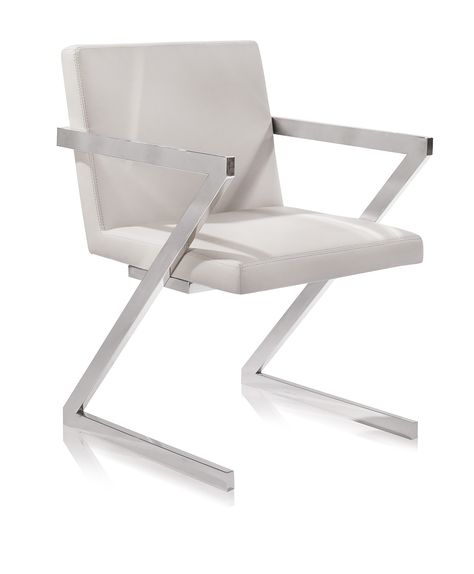 Denzel Chair White Modern Dining Chairs Solid Wood Dining