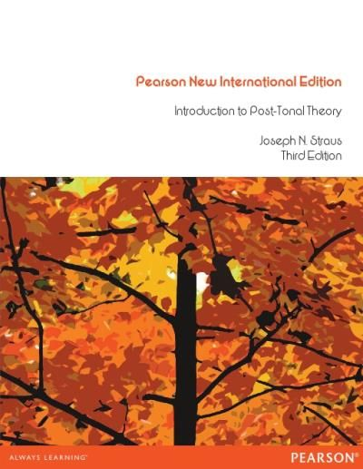 Introduction To Post Tonal Theory Social Research Research