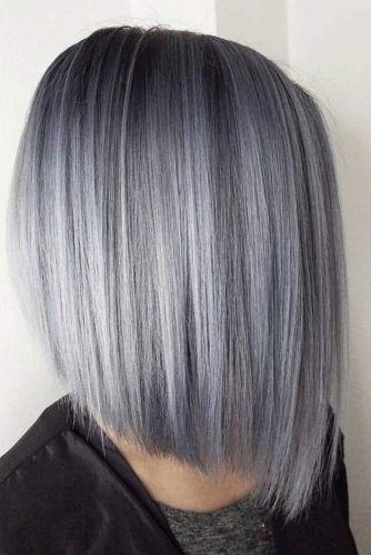 23++ Silver grey bob hairstyles ideas