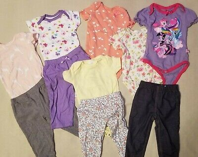 Sponsored Ebay Baby Girl Clothing Lot Size 6 9 Months Spring 10 Pc Laura Ashley Carter S Euc In 2020 Baby Girl Clothes Girl Outfits Baby Toddler Clothing