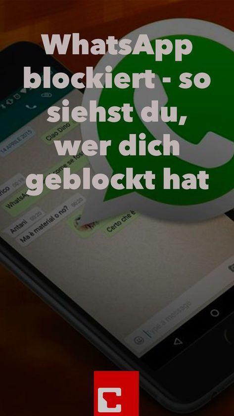 Whatsapp Blockiert So Sehen Sie Ob Sie Geblockt Wurden Whatsapp Tipps Whatsapp Tricks Tipps