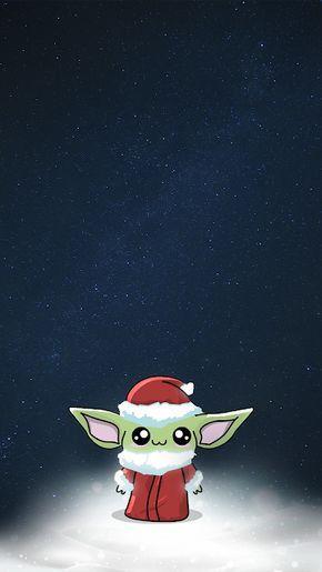 Baby Yoda Wallpaper Christmas Yoda Wallpaper Cute Poster Yoda Happy Birthday