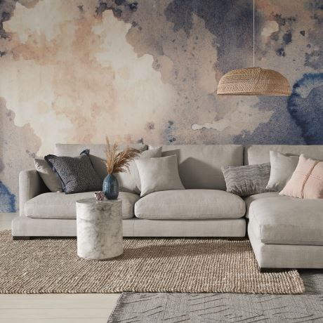 Raf Chaise Steel Grey Hamilton Laf Mod 3s Freedom With Images Modular Sofa Leather Modular Sofa Modular Sofa Bed