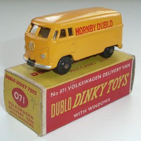 DINKY DUBLO 071 VW DELIVERY VAN TRANSFERS//DECALS