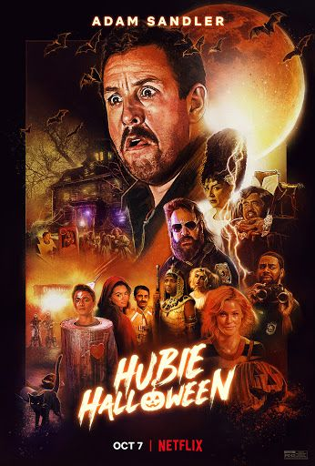 Netflix S Hubie Halloween Review The Game Of Nerds Halloween Movie Poster Halloween Movies Download Movies
