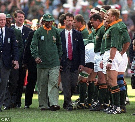 Nelson Mandela Rugby Historical Quotes