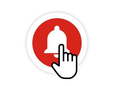 Bell Icon Mograph Logo Instagram Jenis Huruf Tulisan Teks Lucu