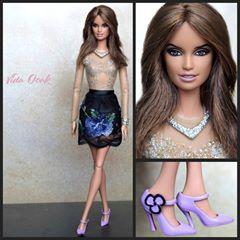 glitter Penelope #barbie #vidaooak...