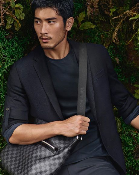 'Godfrey Gao - new face of Louis Vuitton'