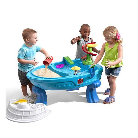 Fiesta Cruise Sand Water Table Step2