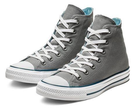 bc9a07495df7 Chuck Taylor All Star Seasonal Color High Top cool grey shoreline blue