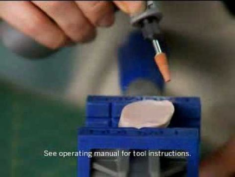 Shaping and Drilling Polymer Jewelry with a Dremel Rotary Tool