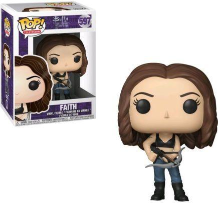 Buffy The Vampire Slayer Faith Pop Vinyl Buffy The Vampire Buffy Buffy The Vampire Slayer