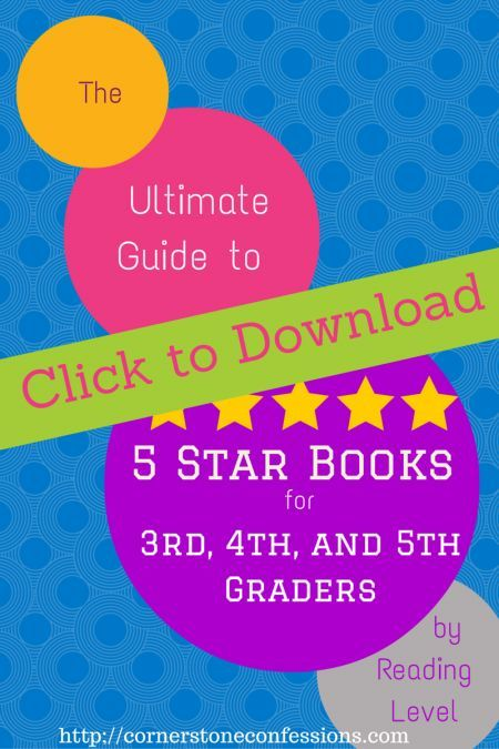Ultimate Guide to 5-Star Books for 3rd, 4th, and 5th Grade Students by Reading Level