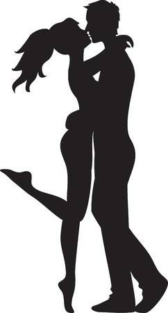 123rf Millions Of Creative Stock Photos Vectors Videos And Music Files For Your Inspiration And Projects Silhouette Art Silhouette Couple Silhouette