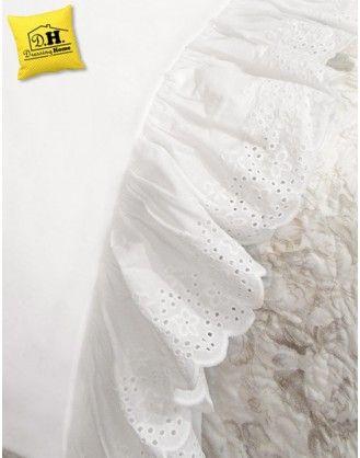 Lenzuola Matrimoniali Pizzo Sangallo.Pin Su Tessile Casa