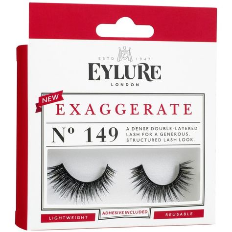 47bf5900b8d Eylure Exaggerate No. 149 (28 BRL) ❤ liked on Polyvore featuring beauty  products, black, hygiene, makeup and womens-fashion