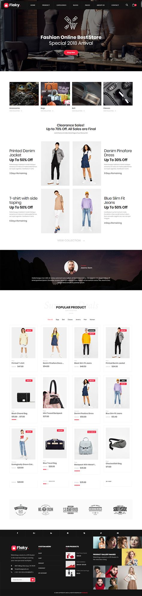 Best Online Shopping Stores WordPress Themes | Wordpress Themes | Graphic Design Junction