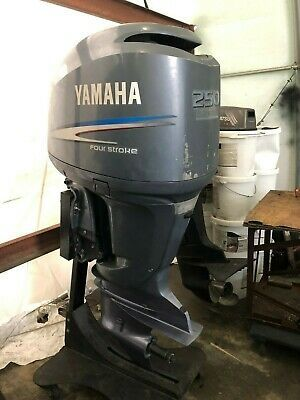 2006 Twin Yamaha 250 S Four Stroke Engines Outboard Motors Outboard Outboard Boat Motors