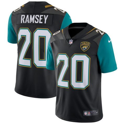 21a45e3a4 Cheer for the Jacksonville Jaguars with this limited player jersey from Nike!  Featuring printed Jacksonville Jaguars and Jalen Ramsey graphics