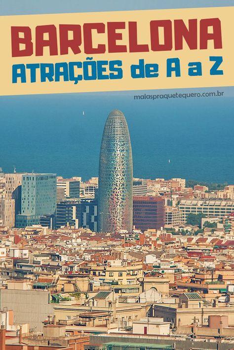 Quer saber o que fazer em Barcelona? Nós separamos as melhores atrações da capital catalã, para você aproveitar ao máximo sua estada por lá.