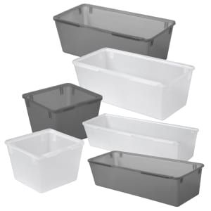 Cooking Concepts Plastic Drawer Organizers In 2020 Plastic Drawer Organizer Drawer Organizers Plastic Drawers