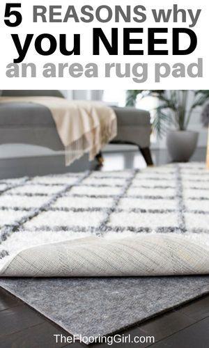Best Area Rug Pad For Hardwood Floors In 2020 Area Rug Pad Diy