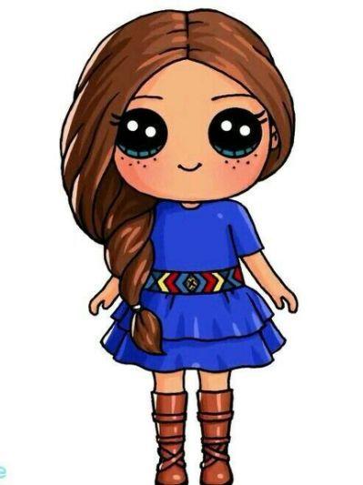Draw So Cute Cute Kawaii Drawings Kawaii Girl Drawings Cute Kawaii Girl