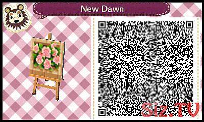 Flowerbed Acnl Qr Code Acnl Acnlpath Code Flowerbed Qr Codes Animal Crossing Acnl Qr Codes Acnl