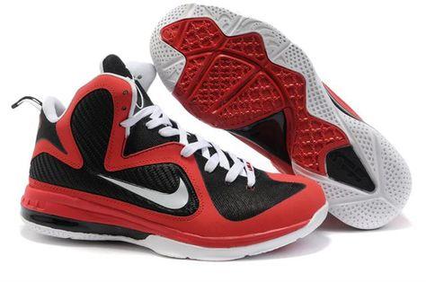 huge selection of 7ce0b 3b9fb Nike LeBron 9 Varsity Red Black White , Price   80.66