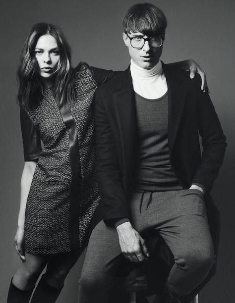 nina kraviz kasper bjorke hugo ad campaign 2012 @ madmoiselle julie
