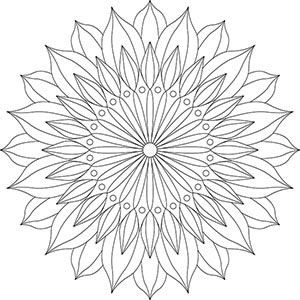 Pin Auf Einfaches Mandala